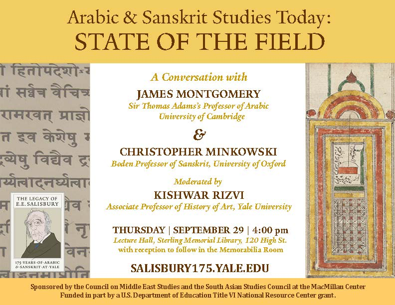 Arabic and Sanskrit Studies Today: State of the Field | ARCHAIA
