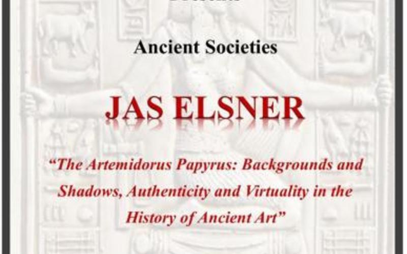 Ancient Societies: Jas Elsner