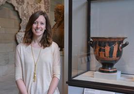 Carolyn Laferrière at the Yale University Art Gallery